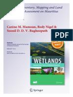 Wetlands 2013 Article