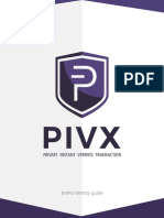 PIVX Brand Guide