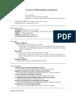 Currículum Vítae CGHG