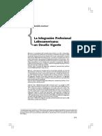 Integración profesional del Trabajo Social en el Mercosur