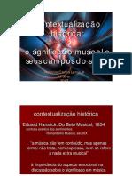 PPT Significado musical e exposiçao artigo Juslin