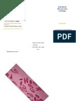 Brochure Anemia Falciforme LGA
