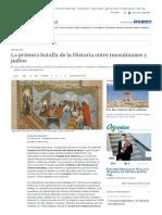 La Primera Batalla de La Historia Entre Musulmanes y Judíos, por Francisco de Andrés