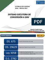 Audiencia de Rendición Pública de Cuentas Final 2016 - Inicial 2017 -  EEC-GNV