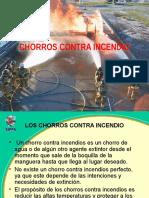 Bomberos Chorros Contra Incendio