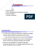 Actuators Instrumentation introduction