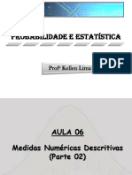 Aula 06_medidas Numericas Descritivas (Parte 02)