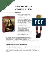 Examen 2 TEORIAS DE LA COMUNICACIÓN fad