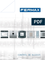 Catálogo Control de Accesos Fermax