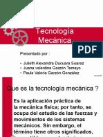 Tecnología Mecánica. Ducuara, Garzón, Garzón