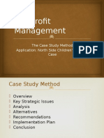 BUS 305 - Lecture 7 - The Case Study Method - North Side Childrens Agency-1.pptx
