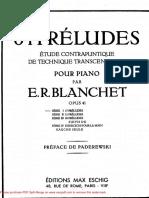 Blanchet - Op. 41 - 64 Preludes