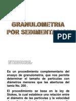 Granulometria Por Sedimentacion
