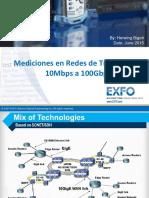 Mediciones 100G
