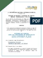 Convocatoria Doctorado ICES_2017