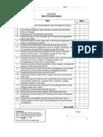 Checklist GALS