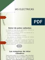 Exposicion Maquinas Electricas Motores y Generadores Sincronos