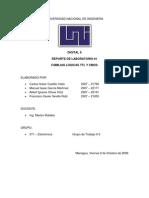 Reporte Laboratorio - Familias Logicas TTL y CMOS