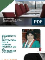 Congresista Esther Saavedra