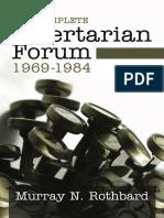 Complete Libertarian Forum (1969-1984) Vol 1 3