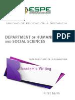 Guide Academic Writing