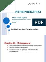 Chap 3 Entreprenariat