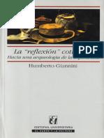 Giannini Humberto - La Reflexion Cotidiana - Hacia Una Arqueologia De La Experiencia.pdf