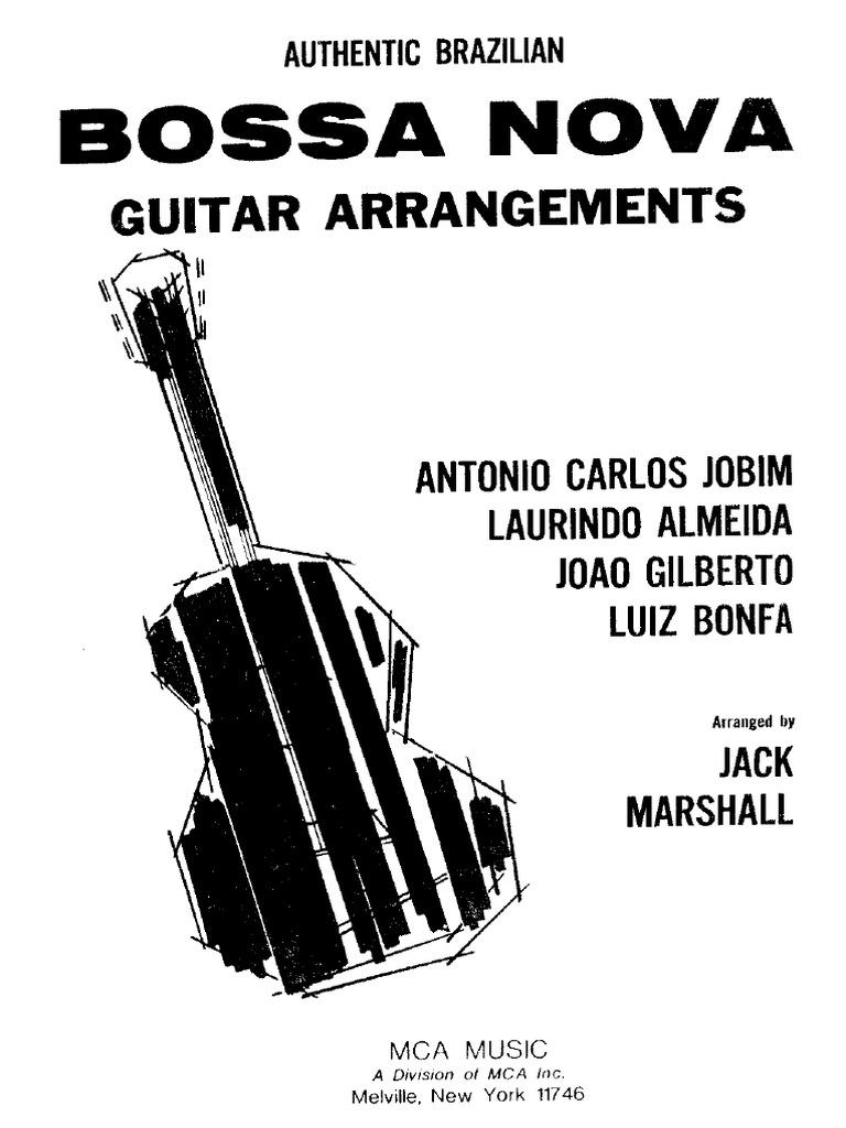 Bossa Nova Guitar Arrangements Arr Marshall Chitarrapdf