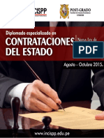 Contrataciones del Estado (Brochure )