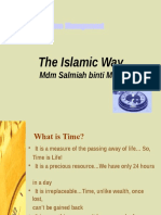 Time Management in Islam