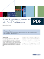 Power Supply Measurement With OshiloScope