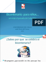 bicentenario para niños