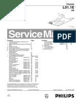 Service Mode & Error Codes - Led Blinking Codes - Philips