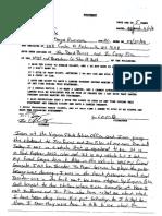 Luis Alfredo Monge Guevara Statement
