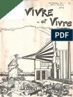 Survivreetvivre-n11 Printemps 1972