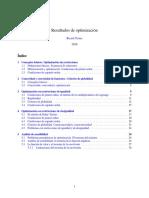 Apuntes de Optimización by Ricard Torres