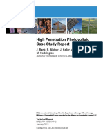 High Penetration Photovoltaic