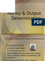 Money & Output Determination