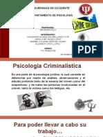 Psicología Criminalística