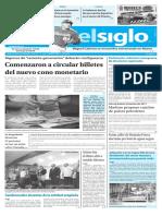 Edición Impresa Elsiglo 17-01-2017