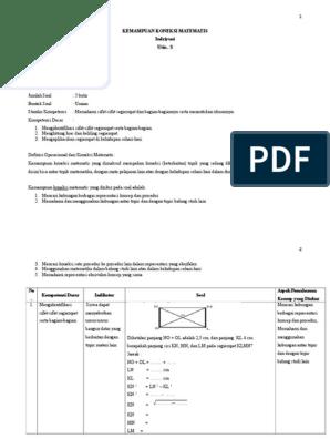 Contoh Soal Koneksi Matematika Smp Kelas 8 Jawabanku Id