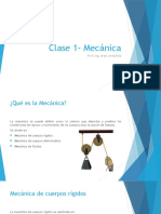 Clase 1 Mecánica