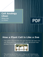 Cell Analogy (Zoo)