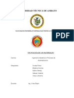 Informe Los Polimeros