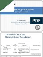 Sindromes glomerulares  Gralidades