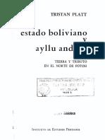 Platt Tristán_Estado boliviano y ayllu andino_Epílogo_p148_172
