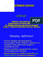 Obesitas Pada Dewasa & Metabolisme Lipid
