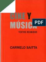 Saitta, Carmelo - Cine y música