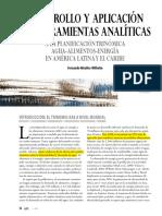 Desarrollo y aplicación de herramientas analíticas