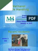 Methanol Safety Jan 2010 Prince William WWT